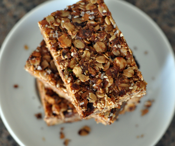 Homemade Granola Bars Recipe