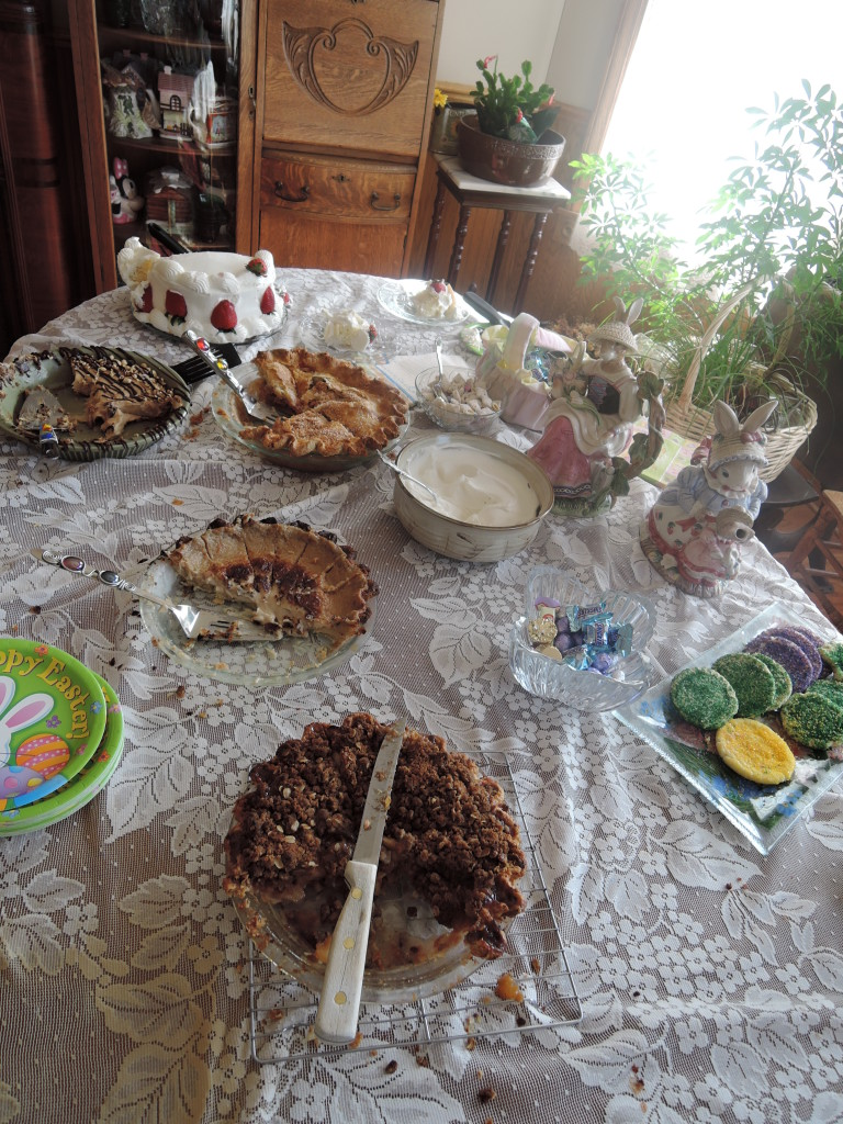 Our Easter dessert buffet